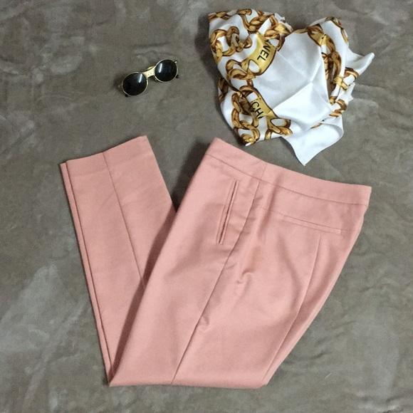 Pastel pink dress pants